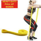 Stretchy Long Resistance Bands Physio Strong Pilate Equipment Gym Yoga Pullup UK