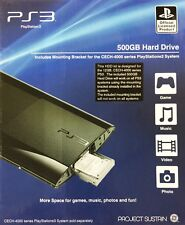 Sony Playstation 3 PS3 500GB Hard Drive (PS4008) for PlayStation 3 Systems - VG