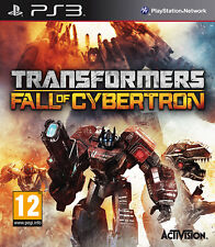 Transformers Fall Of Cybertron ~ Ps3 (en Perfectas Condiciones)