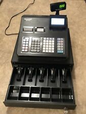 Sharp Xe A43s Electronic Cash Register With Manuel Keys Amp Drawer Great Shape