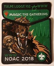 Tulpe Lodge 102 Magic The Gathering 2018 NOAC WWW Order of the Arrow Patch Set