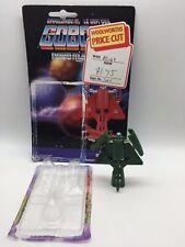 Vintage Gobots MIG - 21 Gunnyr Transformer Robot Figure & Euro Card Bandai 1985