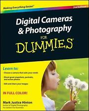 Digital Cameras and Photography for Dummies by Mark Justice Hinton (2010,...
