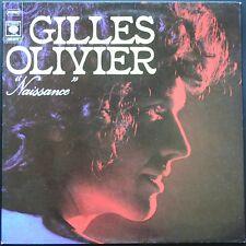 GILLES OLIVIER NAISSANCE LP 33T 30CM 1973 CBS 65.797 DISQUE NEUF / MINT