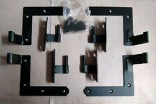 """Exterior L-Strap Shutter Hinge Set for Wood Siding 1-1/16"""" Offset"""
