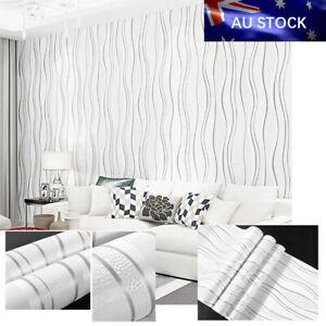 10M Wallpaper Vintage 3D Emboss texture Cement Textured Viny Wall Paper Sticker