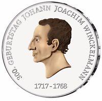 Deutschland 20 Euro 2017 Johann Joachim Winckelmann Gedenkmünze in Farbe