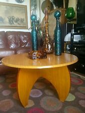 Vintage 60's Modernist Formica Coffee Table Tretchikoff Lynch Mid-Century Danish