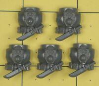 Warhammer 40K Space Marines Deathwatch Kill Team Torso Backs