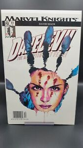 Daredevil #51 ECHO MK Marvel Knights David Mack Marvel 2003 NEWSSTAND VF+ HTF