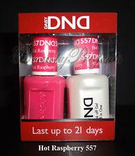 DND Daisy Soak Off Gel Polish Hot Raspberry 557 full size 15ml LED/UV gel duo