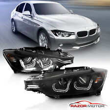 [ Led Bar] 2012-2015 Bmw 320i 328i 335i Sedan F30 4Dr Projector Headlights (Fits: Bmw)