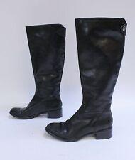 Franco Sarto Women's Branzino Tall Riding Boots SC4 Black Size US:6.5 UK:4.5