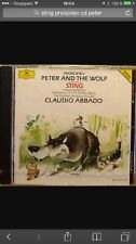 Sting The Police Prokofiev Peter And The Wolf Cd Narrated Story 1990 1991 Album