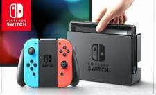 Nintendo Switch Color System Console EMPTY RETAIL BOX ONLY INSERTS MANUAL