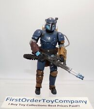 "Star Wars Black Series 6"" Inch Heavy Infantry Mandalorian Loose Figure COMPLETE"