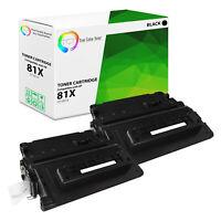 TCT 2 Black CF281X 81X High Yield Toner Cartridges For HP LJ Enterprise MFP M630