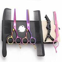 5.5 inch Barber Salon Hairdresser Scissors Set Cutting Thinning Shears Tools Kit
