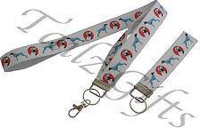 More details for german shorthaired pointer matching lanyard   keyring key ring   bookmark