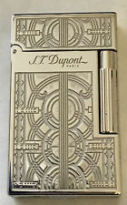 S.T. Dupont L.E. Ligne 2 Travel In Time Lighter, Palladuim, Boston 016971, NIB