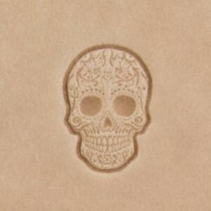Ivan Mini 3D Leather Stamp - Sugar Skull (8863-00)