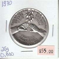 Peace and Justice - Europe United 1970 - Silver