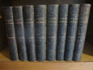Complete 8 Vol J J Audubon Birds Of America Lockwood Ed Set 1870: All 500 Plates