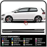 VW GOLF V-VII GTI CLUBSPORT STRISCE GTI fasce laterali adesive Strisce Adesivi S