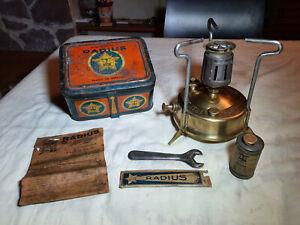 Réchaud de camping / vintage camp stove / alter campingkocher RADIUS N°21
