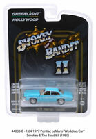 Smokey Bandit 1977 Lemans Blue HOLLYWOOD SERIES 23 GREENLIGHT DIECAST 1/64