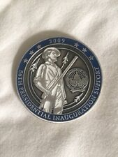AUTHENTIC President Inauguration Obama Joint Task Force POTUS Challenge Coin A35