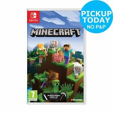 Minecraft Nintendo Switch Game 7+ Years