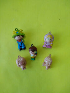 Vintage Lot of 5 Charmkins Figures by Hasbro