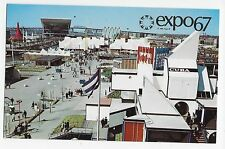 Expo 67 Montreal Canada General View ILE Notre-Dame Vintage Postcard