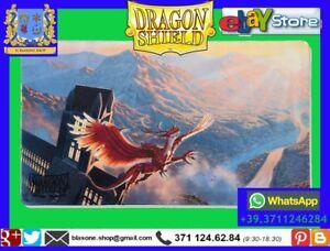 TAPPETINO PLAY MAT PLAYMAT Dragon Shield Crimson Logi Limited Edition Carte 🤩🤩