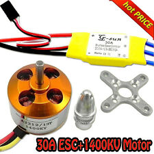 30A controller ESC+1400KV Brushless Motor A2212 for 4 Axis Multi Quadcopter F