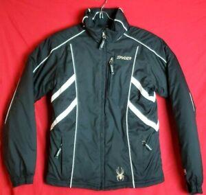 SPYDER XT Girls Size 18 Waterproof Winter Youth Kids hooded Puffer Jacket