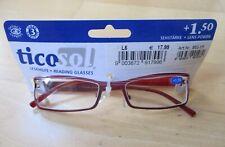 TICOSOL LADIES READING GLASSES +1.50 LENS POWER
