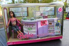 Rare Barbie Kitchen & Doll House Set L9484