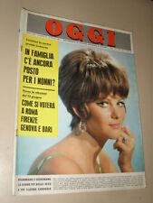 OGGI=1966/23=CLAUDIA CARDINALE=PIERO MAZZARELLA=PALESTRINA=GLI ASSI DEL CICLISMO
