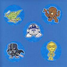 15 Star Wars Pop - Large Stickers - Yoda, Darth Vader, R2-D2, C-3Po, Chewbacca