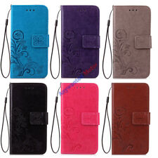 For Huawei Honor 7   PU Leather Soft TPU Stand Card Case Cover Flip