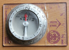 Vintage Silva System Boy Scouts of America BSA Map to Field Compass Ruler