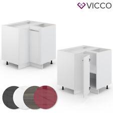 VICCO Eckunterschrank 87 cm Küchenschrank Hängeschrank Küchenzeile Fame-Line