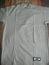 OAKLEY MENS Sunglasses TShirt T-Shirt Shirt LIGHT GREY GRAY GoodQuality