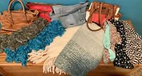 Scarf And Purse Lot All Gently Used, Scarfs Are In Perfect Condition