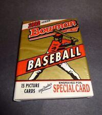 1992 Bowman Baseball Pack (x1) Fresh from Box!