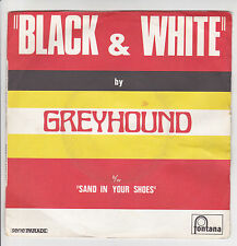"GREYHOUND Disque 45T 7"" SP BLACK AND WHITE - FONTANA 6134004 RARE Frais Rèduit"