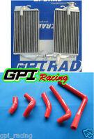 GPI Aluminum radiator + HOSE Honda CR250 CR250R CR 250R 02 03 04 2002 2004 2003