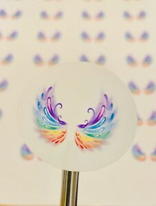 Angel Wing Stickers Planner stickers Laptop Stickers Envelope stickers